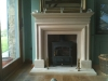 Bathstone fireplace