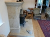 Bespoke design firesurround by Mewstone masonry