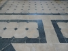 Marnhull stone flooring dating to the 18th century