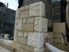 marnhull batted ashlar and bathstone punched quoins