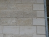 Marnhull quoins string course and coursed guillotined stone