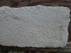Random bush hammered cropped stone