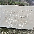 New signage at Whiteway Quarry